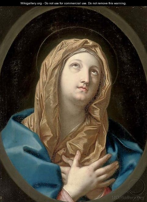 The Virgin Annunciate 2 - (after) Guido Reni