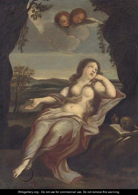 The Penitent Magdalen 3 - (after) Guido Reni