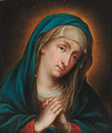 The Madonna at prayer - (after) Guido Reni
