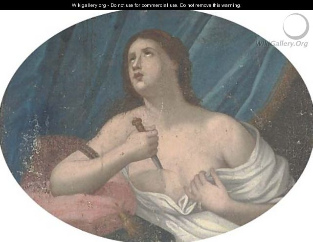 Lucretia - (after) Guido Reni