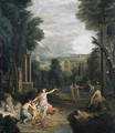 Diana punishing Cupid, in a landscape - (after) Hendrik Frans Van Lint (Studio Lo)