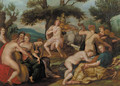 Apollo and the Muses - (after) Hendrick De Clerck