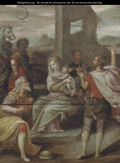 The Adoration of the Magi - (after) Hans Von Aachen
