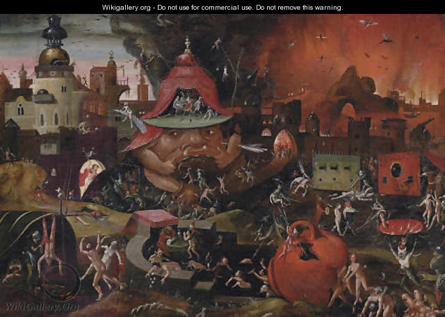 Famous Paintings of Hell http://ppaintinga.com/bosch-paintings-of-hell/