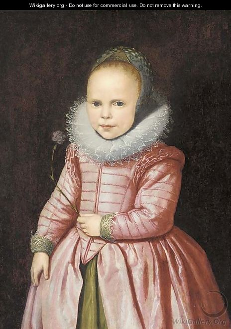 Portrait of a girl - (after) Jacob Gerritsz. Cuyp
