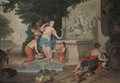 The toilet of Diana - (after) Gerard De Lairesse