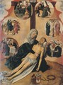 The Lamentation, with medallions depicting The Circumcision - (after) Gerard David