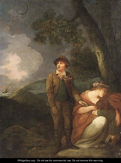 Shipwrecked - (after) George Morland