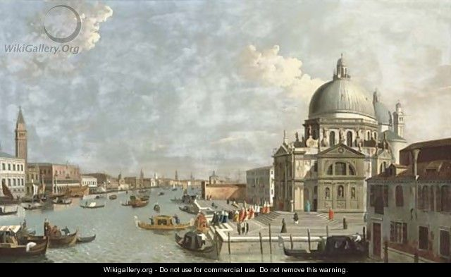 The Entrance of the Grand Canal, Venice - (after) (Giovanni Antonio Canal) Canaletto