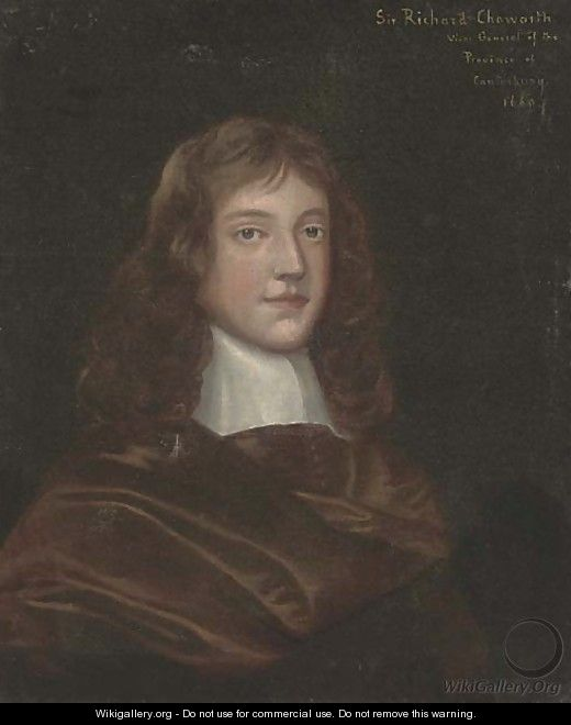 Portrait of Sir Richard Chaworth - (after) Gerard Soest