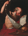 Saint Jerome - (after) Gerard Seghers