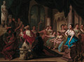 The Idolatry of King Solomon - (after) Gerard Hoet