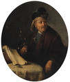 Portrait of a Man - (after) Gerrit Dou