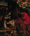 The Adoration of the Shepherds - (after) Giovanni Francesco Guerrieri