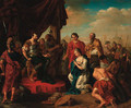The Continence of Scipio - (after) Giovanni Battista The Younger Pittoni