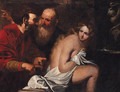 Susannah and the Elders - (after) Giovanni Battista Langetti