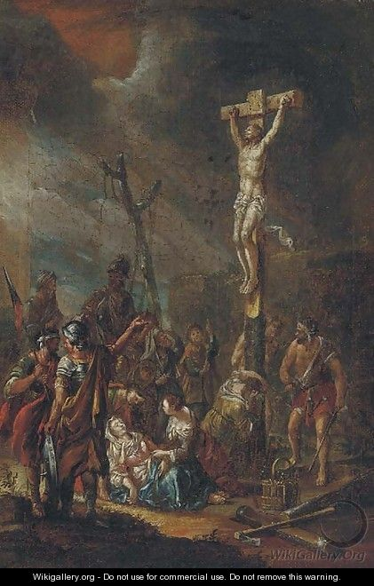 The Crucifixion - (after) Giovanni Battista Crosato