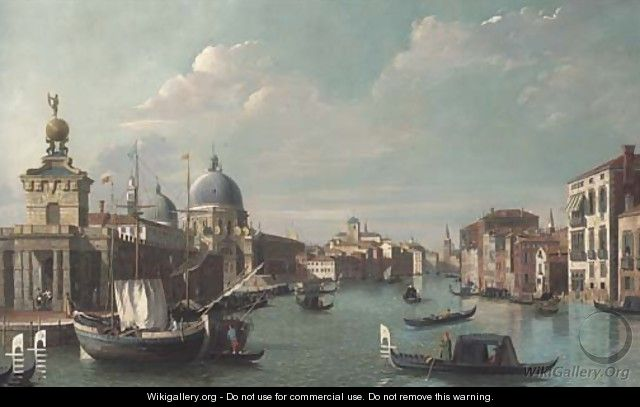 The entrance to the Grand Canal, Venice - (after) (Giovanni Antonio Canal) Canaletto