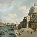 The Entrance of the Grand Canal, Venice, looking East with Santa Maria della Salute and the Dogana - (after) (Giovanni Antonio Canal) Canaletto