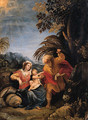 The Rest on the Flight into Egypt - (after) Giuseppe (d'Arpino) Cesari (Cavaliere)
