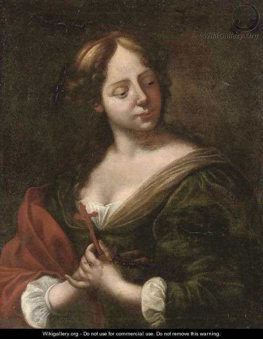 The Penitent Magdalen - (after) Giovanni Martinelli