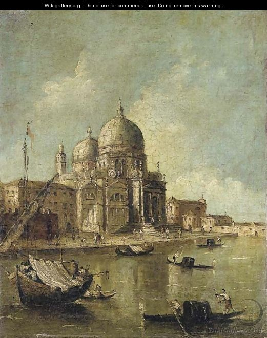 Santa Maria della Salute, Venice - (after) Francesco Guardi