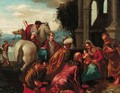 The Adoration of the Magi - (after) Francesco, II Bassano