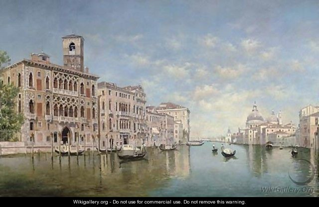The Grand Canal, Venice - (after) Federico Del Campo