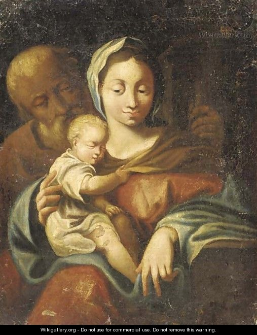 The Holy Family 2 - (after) Francesco Trevisani