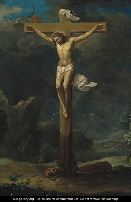 The Crucifixion 2 - (after) Frans II Francken