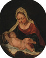 The Madonna and Child 2 - (after) Daniele Crespi