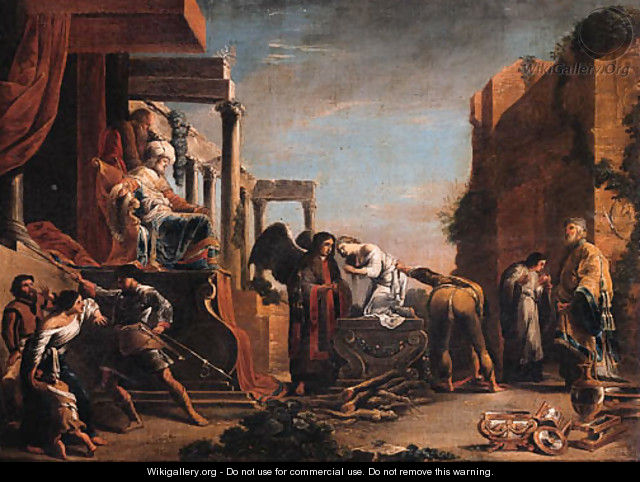 The Sacrifice of Iphigeneia - (after) Domenico Fetti