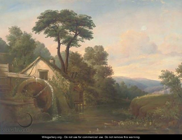The watermill - (after) Edward Williams