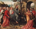 Christ's Entry into Jerusalem - (after) Bernard Van Orley