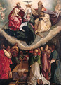 The Coronation of the Virgin - (after) Garofalo