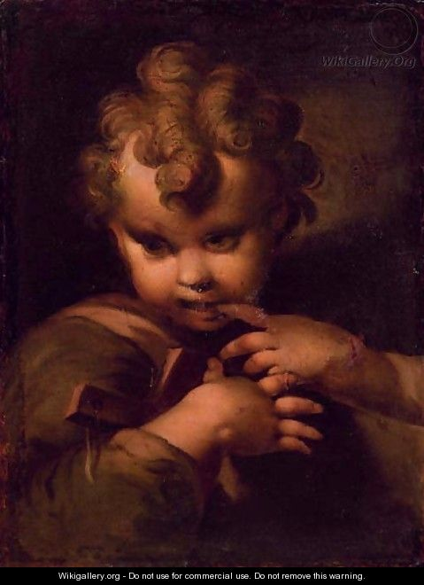 The Infant Christ - (after) Bartolomeo Schedoni