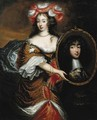Portrait of Princess Henrietta Anna Stuart of England (1644-1670) - (after) Caspar Netscher