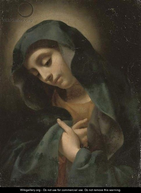 The Virgin Annunciate - (after) Carlo Dolci