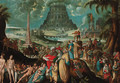 The Tower of Babel - (after) Karel Van Mander
