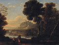 The Rest on the Flight into Egypt 2 - (after) Claude Lorrain (Gellee)