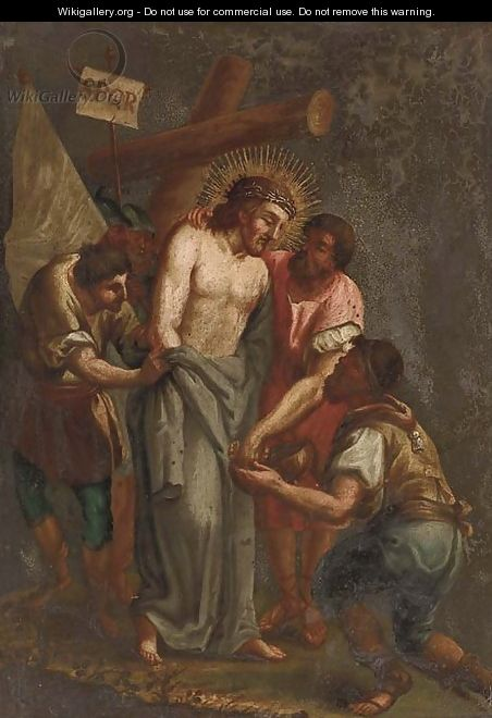 The Mocking of Christ - (after) Alessandro Turchi (Orbetto