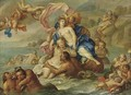 Galatea and Polyphemus - (after) Agostino Carracci