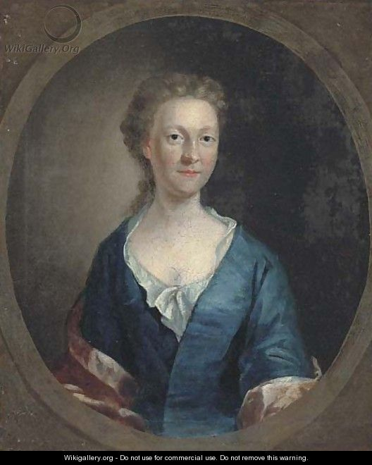 Portrait of a lady 5 - (after) Allan Ramsay