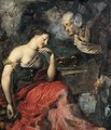 Vertumnus and Pomona - Dutch School