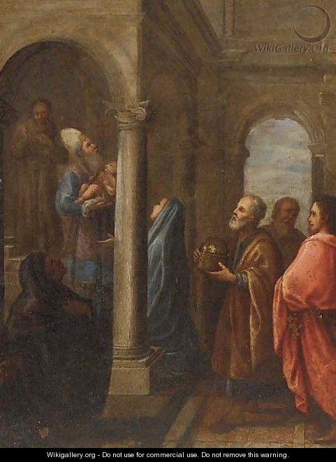 The Presentation in the Temple - Dutch School