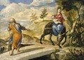 The Flight into Egypt - El Greco (Domenikos Theotokopoulos)