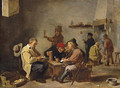 Card players in an inn - David The Younger Teniers