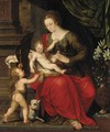 The Virgin and Child with the Infant Saint John the Baptist - Crispin Van Den Broeck