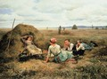 The Harvesters Resting 2 - Daniel Ridgway Knight
