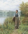 Returning Home - Daniel Ridgway Knight